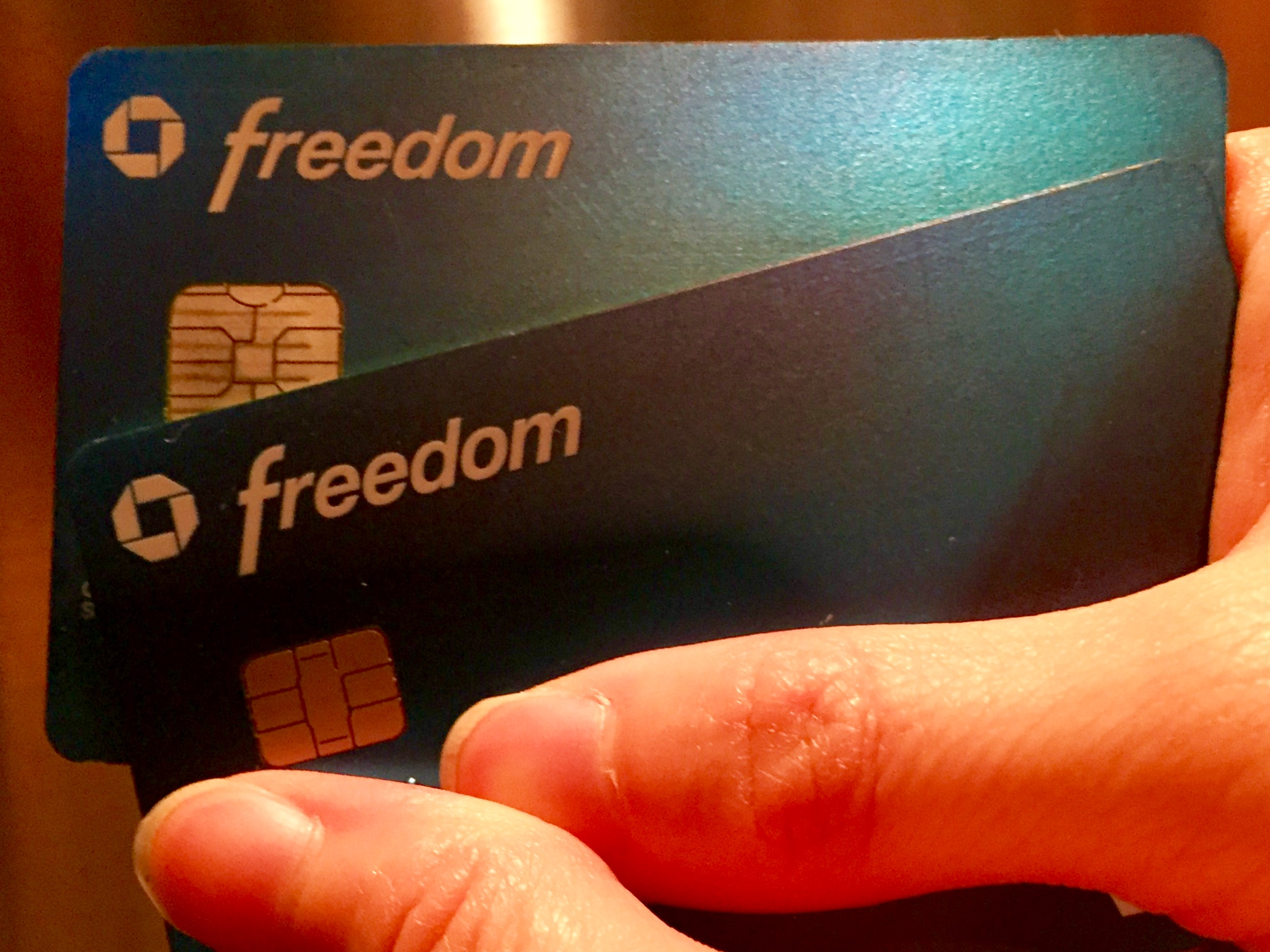 A Credit Card without a fee? That's what I'm talking about!!!